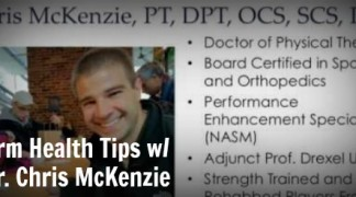 Arm Health Tips with Dr. Chris McKenzie