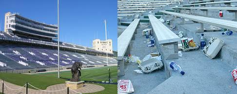 Stadium-Trash