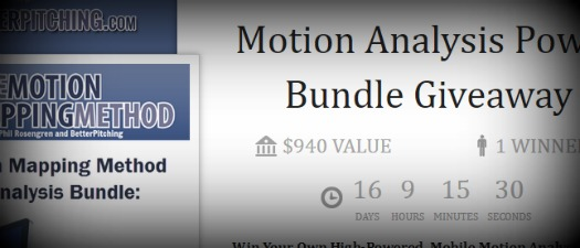 Motion Analysis Power Bundle Giveaway